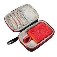 Vococal Tragbare EVA Hard Shell Lautsprecher Tragetasche Lagerung Tasche Veranstalter mit Weichen Nut Handgelenk Gurt für JBL GO3