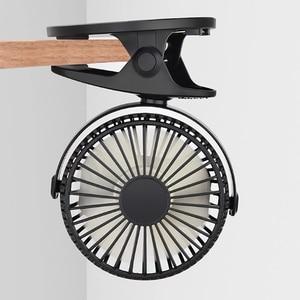 Portable Usb Dual Battery Clip Fan Mini Portable Charging Fan Clip Small Fan Office Desktop Car Clip Fan No Battery Dropshipping