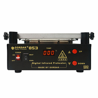 Gordak 853 IR preheating station lead free for BGA repairing rework station can work with solder balls