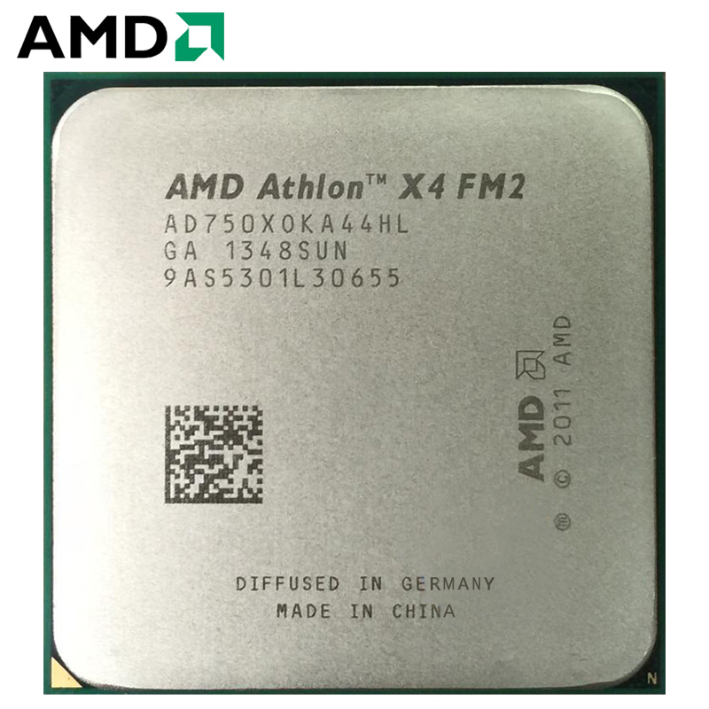 Amd Athlon Ii X4 750x Socket Fm2 65w 3 4ghz 904 Pin Quad Core Cpu Desktop Processor X4 750x Socket Fm2 Cpus Aliexpress