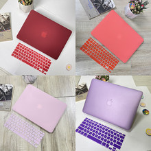 2020 Matte Hard Laptop Case For Apple Macbook Air Pro Retina M1 13 A2179 A2337 A2338 A2289 A2251 Cover For MacBook Pro 16 A2141