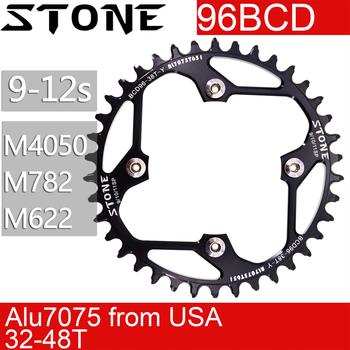 Stone 96 BCD Round Chainring for Shimano M782 M612 xtc860 36t 38 40t 42 44 46 48T MTB Bike Chainwheel Bicycle Tooth Plate  96bcd звезда задняя a2z для кассеты shimano 11 скоростной 48t алюминий золотистый ad 48t 6