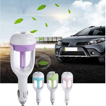 New 12V Car Air Freshener Essential Oil Car Diffuser Car Steam Air Humidifier Aroma Diffuser Mini Air Purifier Mist Maker Fogger