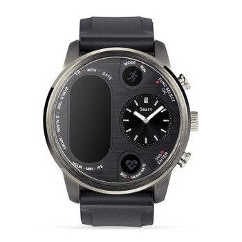 T3 Dual Display Smart Watch For Men Ip68 Waterproof Fitness Bracelet 15 Days Standby Business Smartwatch Activity Tracker(Black)