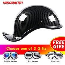HEROBIKER New Motorcycle Helmet Open Face Retro Half Moto biker Helmet