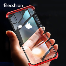 Magnetic Case For Iphone XR X 7 XS Max Metal Adsorption Tempered Glass Coque Cover iPhones 6 8 Plus Screen Protector
