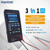 Hantek Tenuto in Mano Mini Oscilloscopio Multimetro Digitale + Generatore di Forme D'onda + Portable Usb Oscilloscopi 3in1 2C42 2D42 2C72 2D72