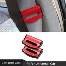 Автомобильный ремень безопасности пряжка зажим стопор ремня безопасности регулировщик клип для отдыха плеча для ремня автокресла высоког...