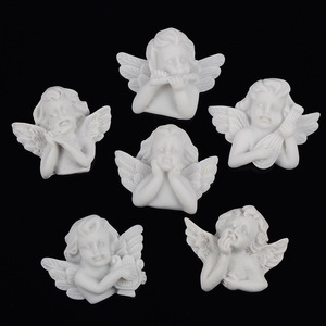 6pcs/lot Flat Back Resin Embel