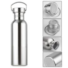 Water Bottle Portable Stainless Steel Vacuum Flask Sport Drink Outdoor For Sports Hiking Camping