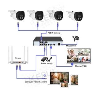 Image 5 - KERUI H.265 8CH 5MP HD POE NVR Kit système de sécurité CCTV enregistrement facial caméra IP extérieure étanche caméra de Surveillance vidéo