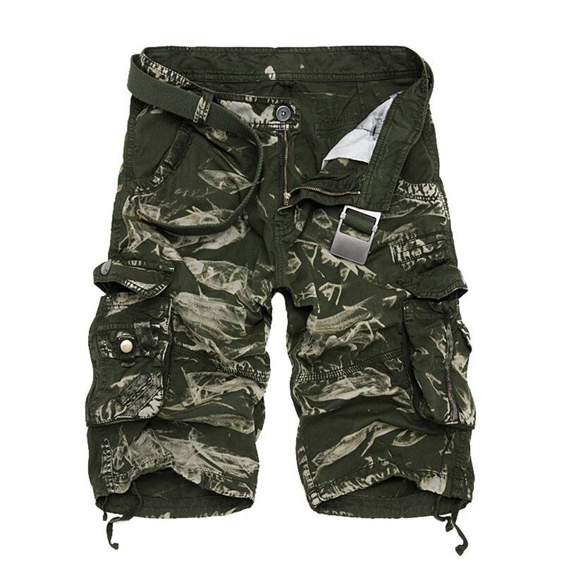 Cargo Shorts Men Cool Camouflage Summer Hot Sale Casual Men Short Pants Brand Clothing Comfortable Camo Men Cargo Shorts