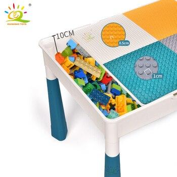 """Конструктор HUIQIBAO """"Многофункциональный стол с одним стулом"""" 5"""
