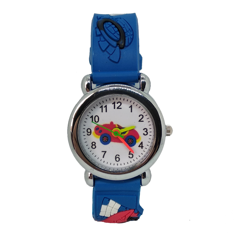 Blue Black Red Strap Cartoon Silicone Kids Watches Child Quartz Watch For Boys Girls Children Quartz Wrist Watches Clock Relogio