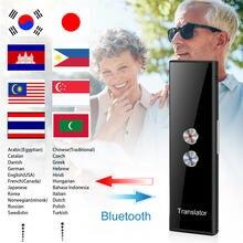 Портативный многоязычный голосовой переводчик bluetooth Смарт