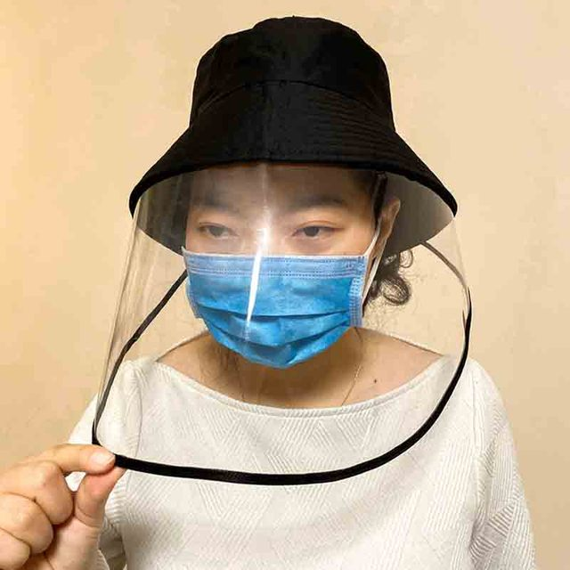NEW safety anti dust mask cover hat anti flue spittle anti dust cover full face eyes protection cap