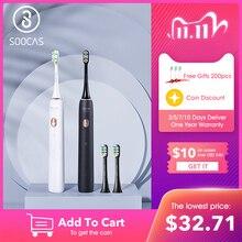 Soocas X3U Sonische Tandenborstel Elektrische Tandenborstel Voor Xiaomi Mijia Ultrasone Automatische Opgewaardeerd Snelle Oplaadbare Volwassen Waterdichte
