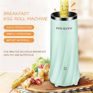 Image 2 - Egg Roll Maker Electric Egg Cooker Breakfast Machine  Kitchen Appliance 220V Household DIY Single Tube Sausage Machine D45