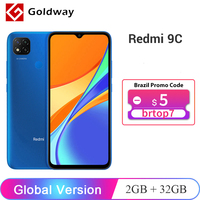 "Global Version Xiaomi Redmi 9C 9 C 2GB 32GB / 3GB 64GB Smartphone Helio G35 Octa Core 6.53"" Display 13MP Rear Cameras 5000mAh 1"