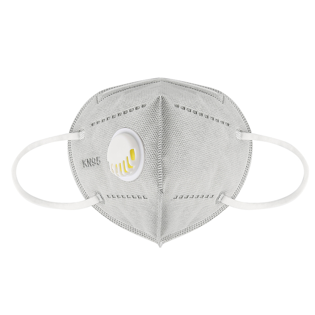 Kn95 Mask With Valve 5 Layers Reusable Dust Respirator Masks Individual Packing Protective Face Masks FFP2 ffp3 mask Mascarillas 2