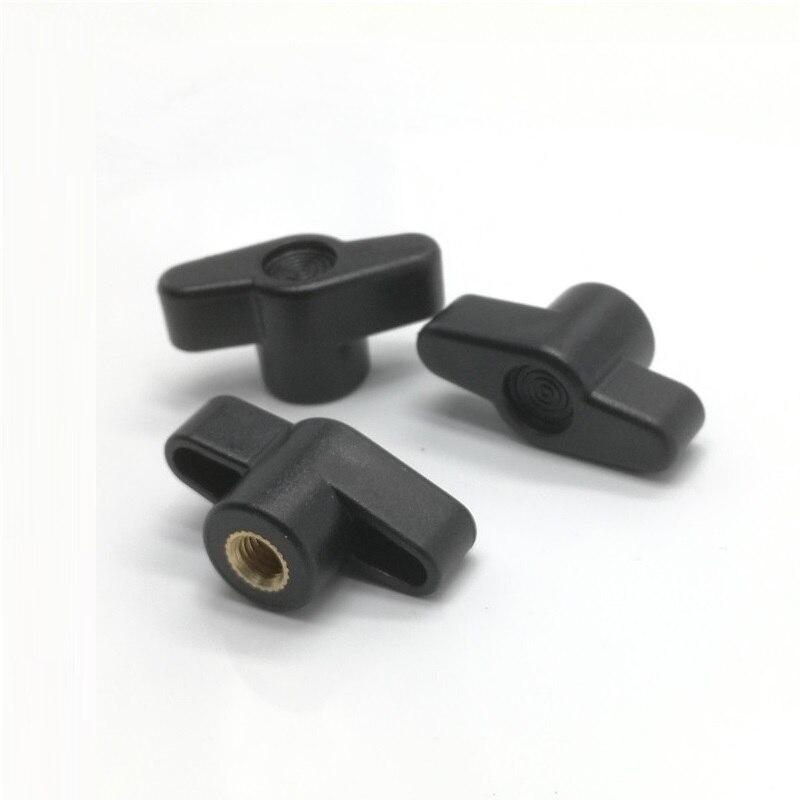 5 шт. M4 M5 M6 M8 35 # Диаметр головки сливы бакелитовые гайки/пластиковая головка бабочки ручка для ручки