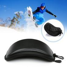 Protection Ski Eyewear Box Ski Glasses Case Eyewear Snowboard For Winter Shockproof Case Original Hard Case Ski Sports W8F2