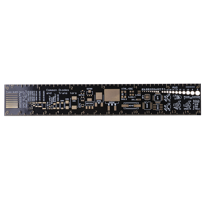 PCB Ruler For Electronic Engineers For Geeks Makers For Arduino Fans PCB Reference Ruler PCB Packaging Units