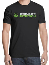 Herbalife Nutrition Logo Medicine Shirt Black White Tshirt Men'S Free Shipping New Funny Tee Shirt(China)