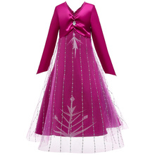 Anna Elsa Fairy Dress For Girls Carnival Costume Kids Dresses For Girl Birthday Party Dress Children Queen Princess Fancy Dress цена 2017