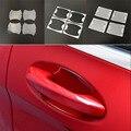 4 шт. автомобильные наклейки  автомобильная дверная ручка  защита от царапин для Renault Koleos Fluenec Latitude Sandero Kadjar Captur Talisman Megane