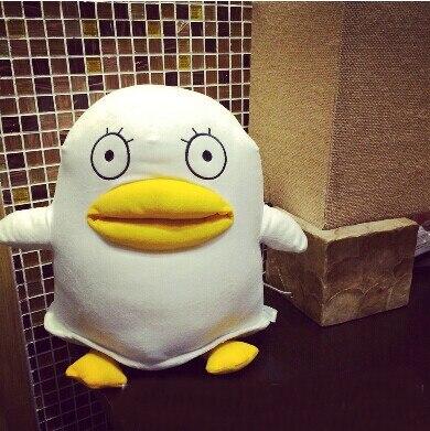 2pcs GINTAMA Japanese anime mascots Sadaharu Elizabeth dog penguine figure