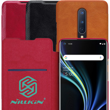 Nillkin Qin Book Flip Leather Case Cover For Oneplus 8 Pro