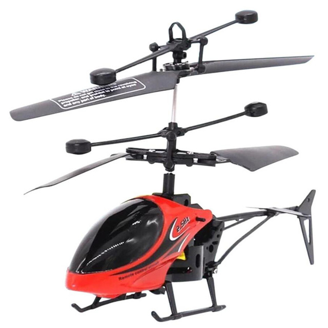 Mini Drone Dron Quadcopter RC 901 2CH Flying Mini RC Infraed Induction Helicopter Flashing Light Toys Kids  Gift