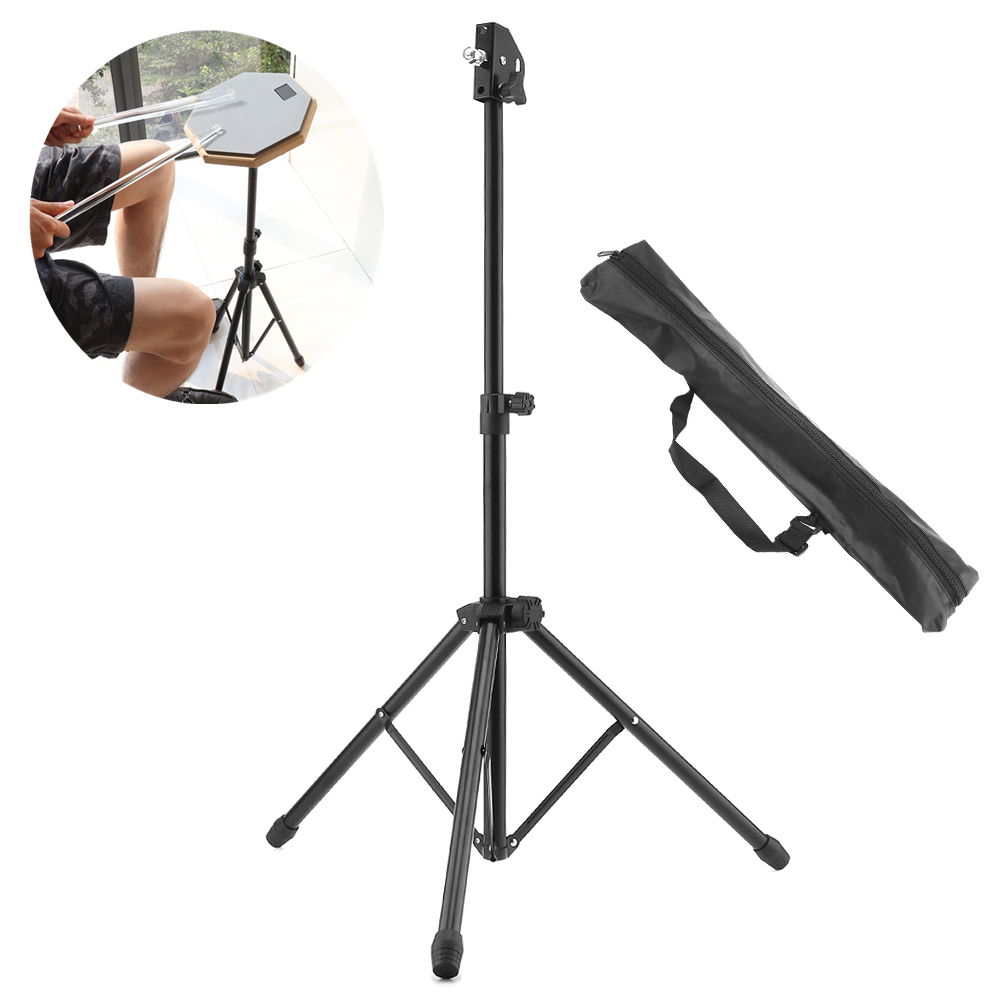 Full Metal Portable High Quality Aluminum Alloy Adjustment Foldable Floor Drum Stand Holder With Carry Bag For Jazz Snare Dumb