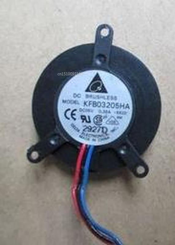 For Electronics KFB03205HA (-S92D) Server Cooler Fan DC5V 0.36A 3-wire Free Shipping