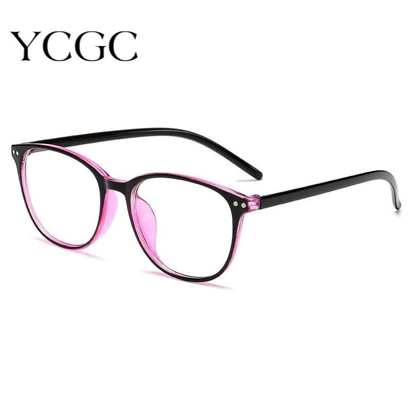 Clássico óculos de miopia com grau feminino preto óculos de leitura óculos anti azul computador eyewear-1.0 a-6.0