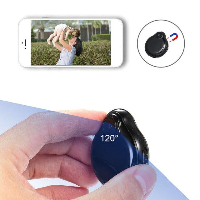 WiFi Mini caméra portable petite caméra complète 1080P infrarouge Version nocturne caméscope de sécurité caméscopes pour la sécurité à la maison intérieure