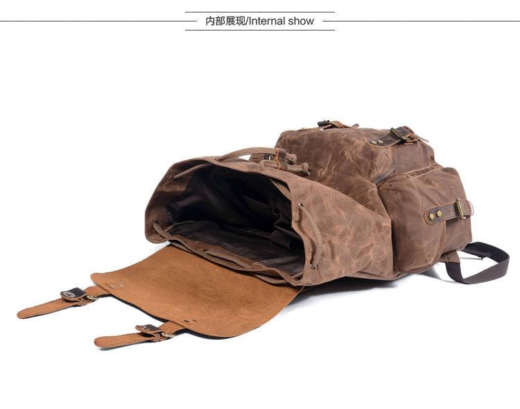 Мужской рюкзак для ноутбука compart мужской в деревенском стиле