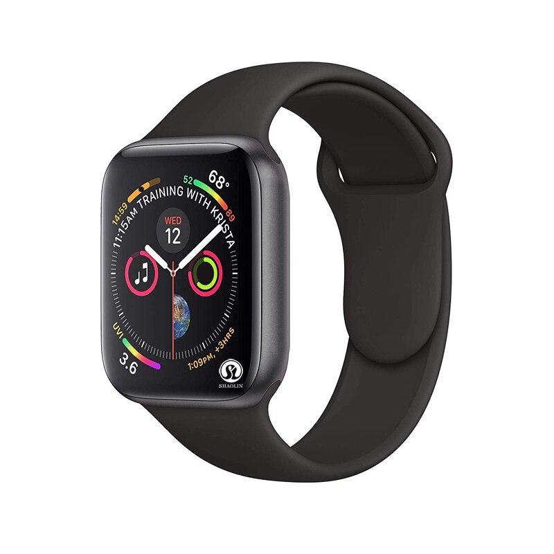 Новинка, Смарт-часы Ssmart серии 4 42 мм с Bluetooth, чехол для Apple iphone 6 7 8 X и телефона Android