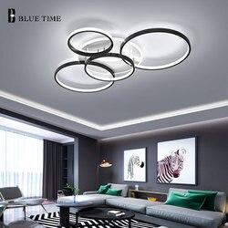 Plafond moderne à LEDs lumière 110V 220V lustre Led plafonnier pour Foyer salon salle à manger cuisine chambre Led Lustres