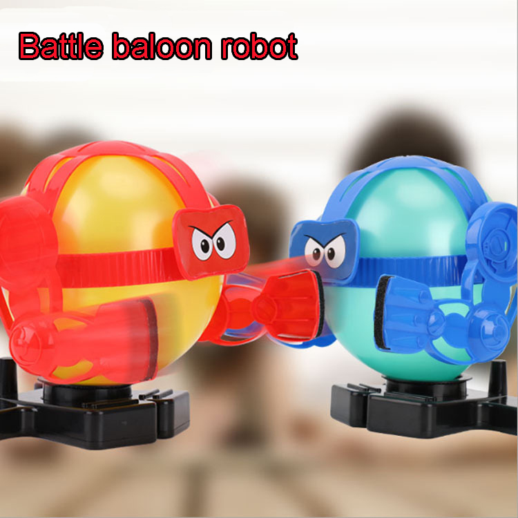 Funny Antistress Party Games Toys Trick Amazing Balloon Bot Battle Robot Shocker Joke Gift Toy Oyuncak Gadget Indoor Games Toys