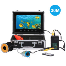 "30M Fish Finder Underwater Camera 7"" Color Screen 1000TVL CAM 24pcs Infrared and White LED IP68 Waterproof(China)"