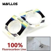 Mavllos 50m Ture фторуглеродная рыболовная леска для раковины, леска из Фторуглерода, леска из углеродного волокна, невидимая рыболовная леска