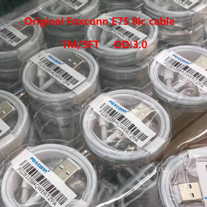 Sync Usb-Charging-Cable Foxconn E75-Chip 10pcs/Lot Original Packing-Box Data 8ic