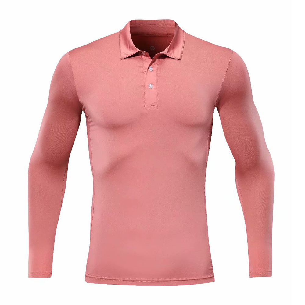 Golf Pgm Men's Shirts Autumn Winter Golf Apparel Long Sleeve T Shirt Table Tennis Sports Shirt Comfort Male Shirts Tshirts