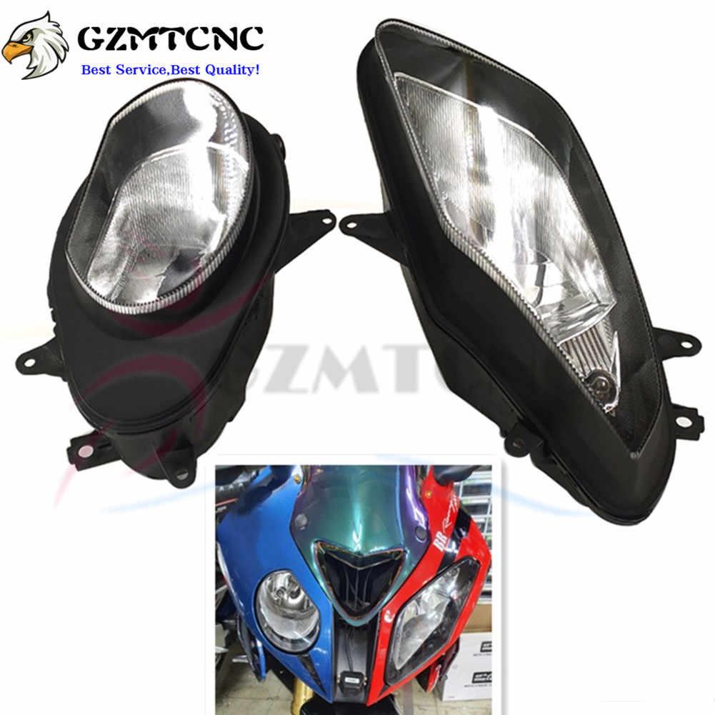 Left Side Front Headlight Head Light BMW S1000RR 2009-2014 Headlamp