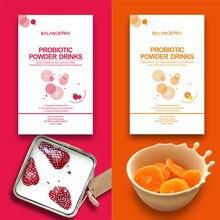 Fabrika doğrudan satış 7-suşları probiyotikler ve prebiyotik vitamin meyve tozu içeceği tutmak için vücut sağlığı ve güzel (2 adet)
