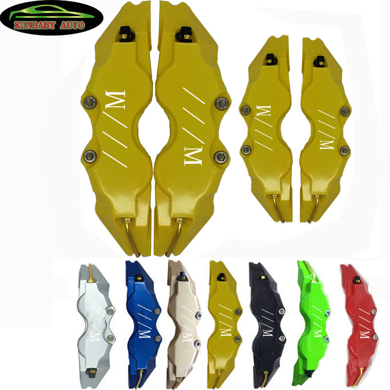 KUNBABY ABS Plastic With Original ///M Logo Disc Brake Caliper Covers Size L/M/S For BMW Model 3 Free Shipping