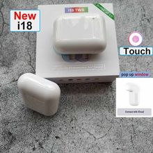 Newest pop up i11 i18 TWS Touch Bluetooth 5.0 Wireless Headphones Earphone Headset for iphone XS xiaomi Android headphones(China)