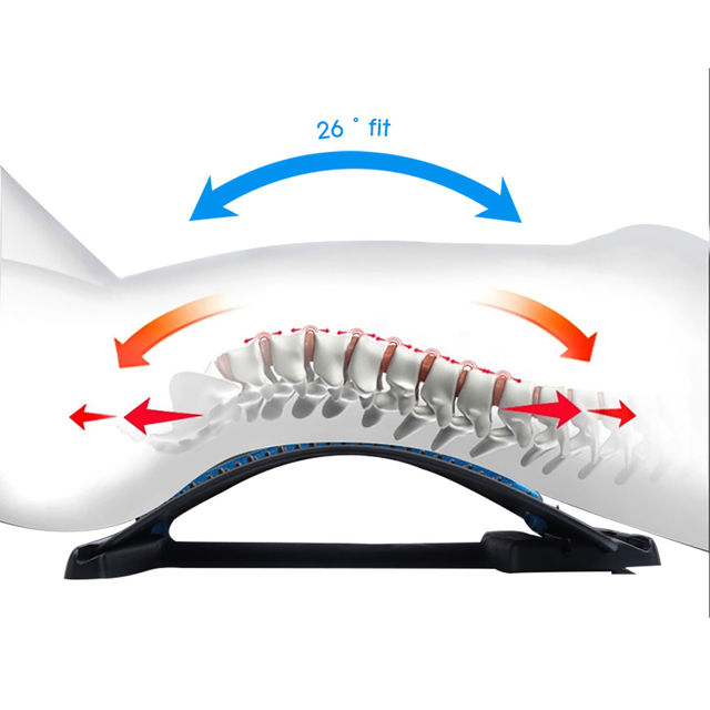 VeryYu Spine Lumber Support Massage Stretcher Wellness  VeryYu the Best Online Store for Women Beauty and Wellness Products